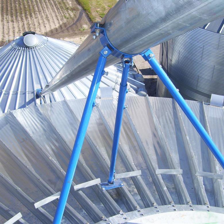 Continuous-Flow Transfer Auger - Shivvers Manufacturing | Grain