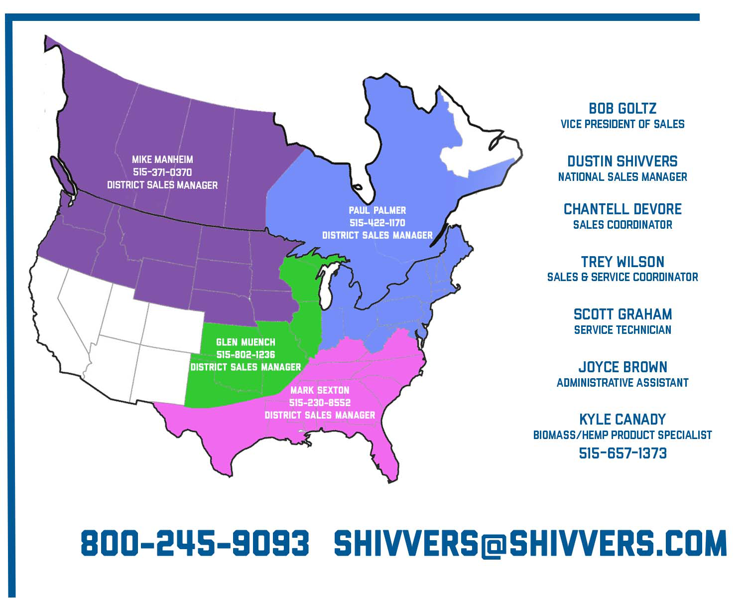 Shivvers Grain Drying Dealers